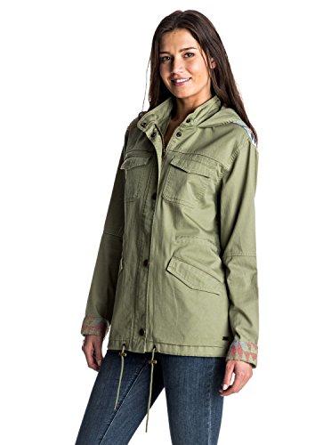 Roxy Sultanisjkt Abrigo, Mujer, Oil Green, L