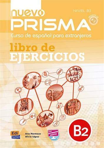 Nuevo Prisma: Libro de ejercicios + audios descargables en la ELEteca (B2)