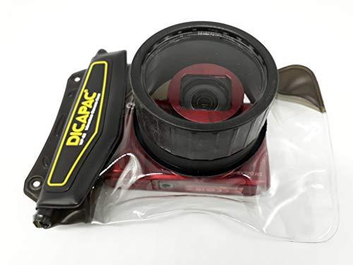 Samsung VLUU WB 110 / VLUU WB 150F / VLUU WB 210 - wasserdichte Kameratasche und Unterwasser Kamerahülle von DiCAPac/wasserdicht bis zu 5m IPX8 JIS/schwimmt auf dem Wasser/schützt vor Schmutz