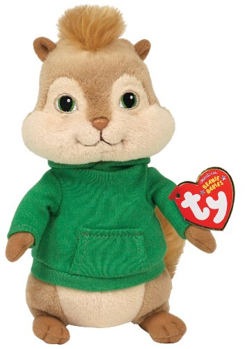 Ty Peluche Alvin and The Chipmunks Peluche, 17 cm