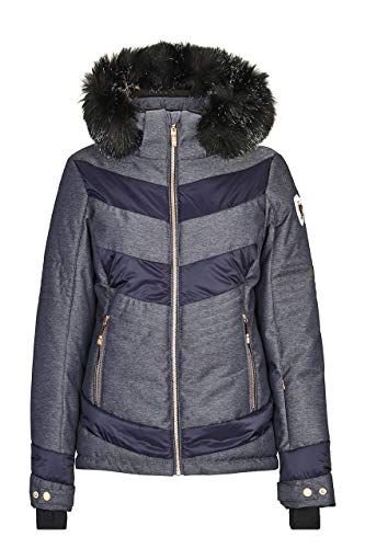 Killtec Damen Calibria Skijacke, denim, 40 (M)