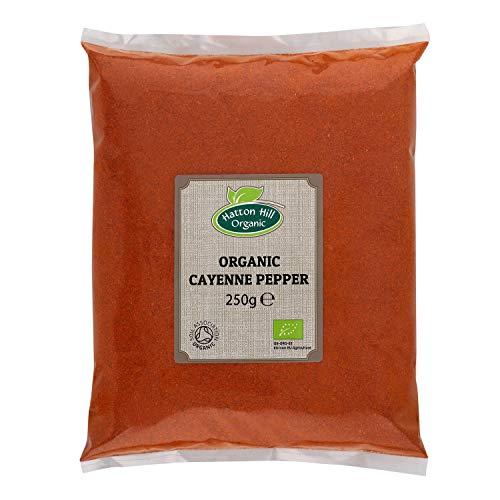 Pimienta de Cayena orgánica 250g de Hatton Hill Organic