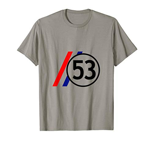Herbie 53 Beetle Youngtimer Geschenkidee T-Shirt