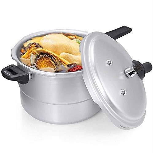 Cocina de presión de aluminio 6QT Cocina lenta, caja fuerte a prueba de explosiones Presión a prueba de gas Cocina Cocina Gas Pote especial, Camping al aire libre Cocina de alta presión, Portátil Pequ