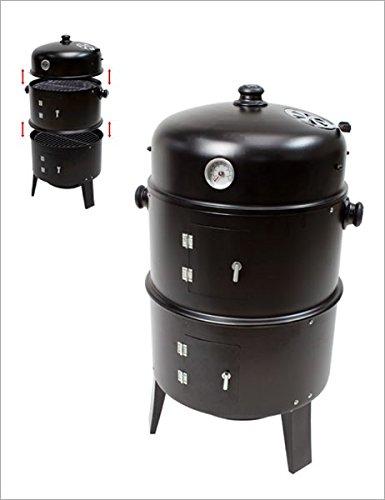 Dema Grill - Smoker - Räucherhofen - Watersmoker zum Grillen und Räuchern von Fisch, Fleisch etc.