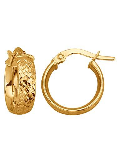 KLiNGEL Creolen in Gold Gelb