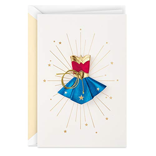 Hallmark Signature Mother's Day Card (Wonder Woman, Celebrating an Amazing Mom)