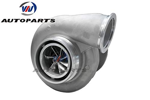 S400-SX4 80mm Billet Upgraded 360 Thrust Bearing S400 Turbocharger With T6 1.32 A/R turbine For 600-1300 horse power