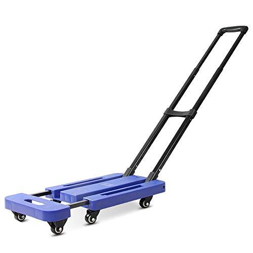 GYFG Trolley Luggage Cart Folding Flat Cart (Load 200kg) (Color : #2, Size : M)