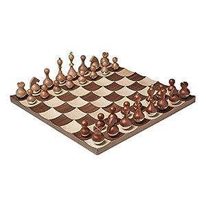 Umbra Wobble Schachspiel aus hochwertigem Holz