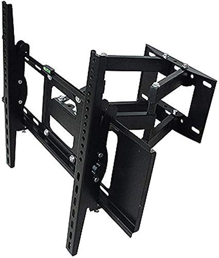 追加一貫性のない高揚したテレビは、ほとんどの32から70インチ画面LEDテレビマウントブラックテレビマウント三脚アクセサリー(カラー、ブラック、サイズ、32から70インチ)、BLAC用マウントテレビ壁掛けチルトブラケットをスタンド (Color : Black, Si...