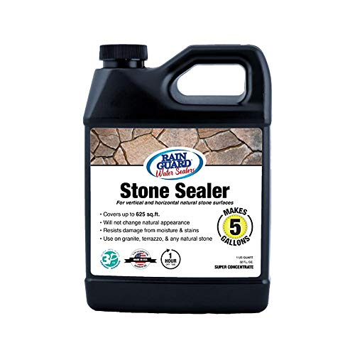 Rain Guard Water Sealers SP-6003 Stone Sealer Concentrate, 1 Quart Makes 5 gallons