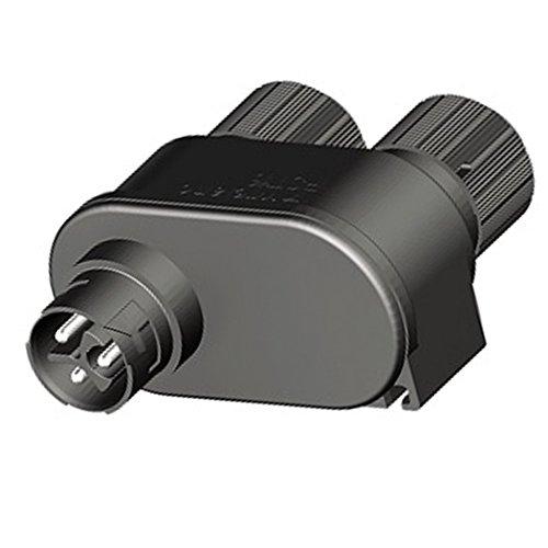 Verteilerblock dreiadrige Verschaltung Wieland schwarz Verschluss RST16i3 mini