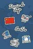 Diario de Viaje Cantón: Diario de Viaje   106 páginas, 15.24 cm x 22.86 cm   Para acompañarle durante su estancia.