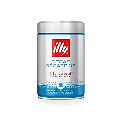 illy Espresso Ground Decaffeinated Coffee, 8.8oz by Illy