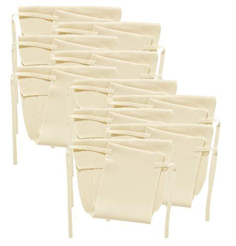 Disana 1110110 - Strickwindel 10er-Pack Baumwolle natur