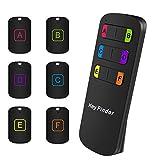 Key Finder, Soulcker Wireless Key Finder RF Item Locator, Item Tracker Support Remote