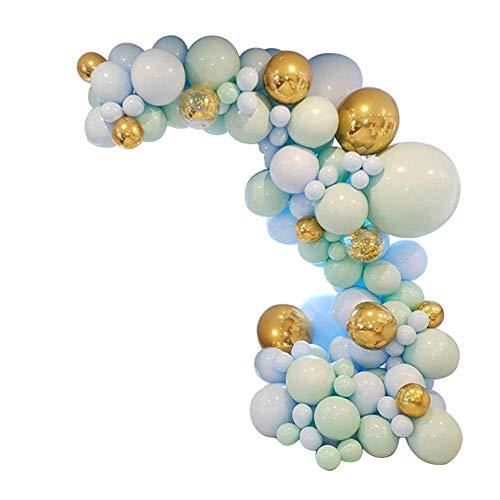 Euopat Ballon Set, Pastell Ballons Macaron Farbige Luftballons, Ideal Für Hochzeits- Und Geburtstagsdekorationen, Party, Shows, Babyparty