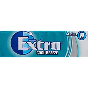 Customer reviews Wrigley's Extra Cool Breeze Sugarfree Chewing Gum 10 Pieces x 30