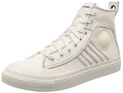Diesel Herren S-astico Mid Lace Sneaker, Weiß (Star White T1015-Pr012), 45 EU