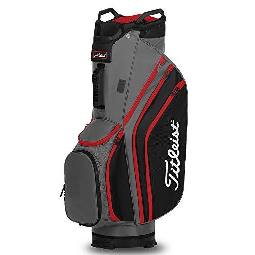 Titleist Cart 14 Lightweight Golf Bag - Charcoal/Black/Red (TB20CT6-206)