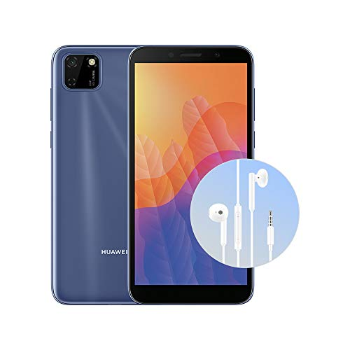 "HUAWEI Y5p Blue + Cuffia AM115, DewDrop Display da 5.45"", Memoria 2+32 GB (Versione Italiana)"