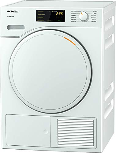 Miele TSB143WP Freestanding Heat Pump Tumble Dryer, 7kg Load, White