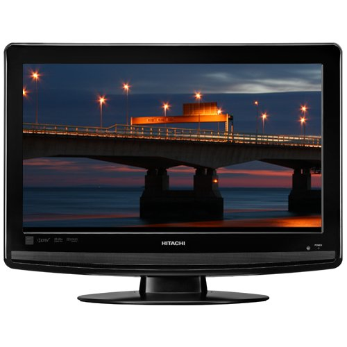 Review Of Hitachi L26D103 26-Inch 720p LCD HDTV with Built-In DVD Player, Black