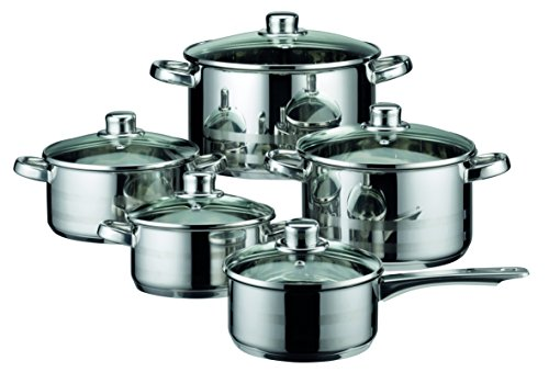 ELO Skyline 10-piece Cookware Set