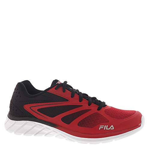 Fila Memory Speedstride 4 Men's Running 9.5 D(M) US Red-Black-Metallic Silver