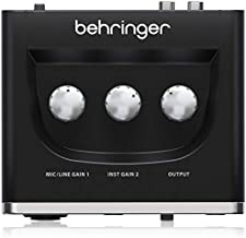 BEHRINGER Audio Interface, 1x XLR/TRS 1x 1/4