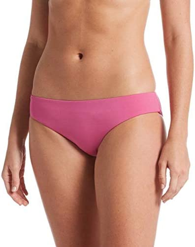 Nike Swim Essential Bikini Bottom -Cosmic Fuchsia Pink - Size Medium