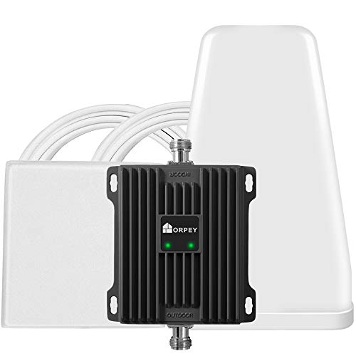 AT&T Verizon T-Mobile Cell Phone Signal Booster 700 MHz Band 12/13/17 4G LTE Cellular Repeater for Home and Office
