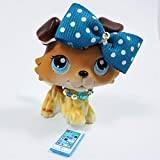 happyblockbuilder compatible with Littlest pet shop accessories LPS clothes 1bow 1necklace 1phone. CAT NOT INCLUDED)