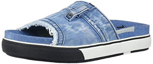 Diesel Damen Sa-Grand Ot W-Slide, Light Denim, 39.5 EU