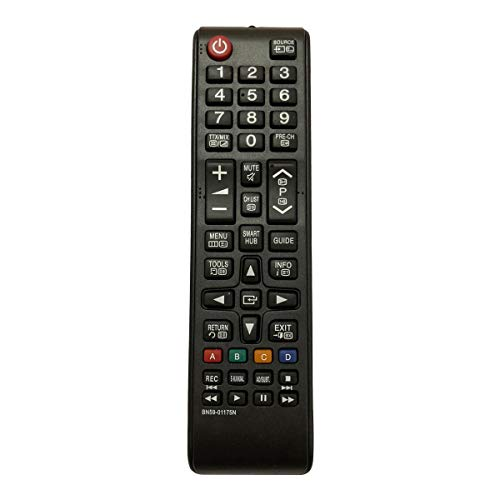 Control Remoto Compatible para Samsung PS43E450A1WXXC Televisión/TV
