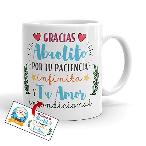 Kembilove Taza Abuelo – Tazas de Desayuno Graciosa para Abuelos – Taza...