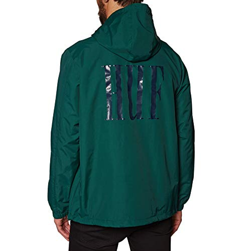 HUF Marka Anorak Jacket X Large Pine