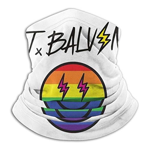 Mengghy J Balvin Mas-K - Pasamontañas unisex multifuncional a prueba de polvo