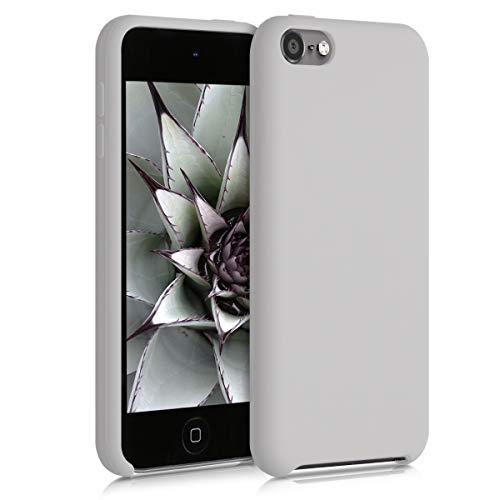 kwmobile Funda Compatible con Apple iPod Touch 6G / 7G (6a y 7a generación) - Carcasa Protectora de Silicona - Case Trasero en Beige