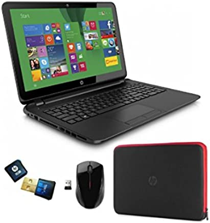 HP 15-f014wm Notebook Bundle/ AMD Quad-Core A8-6410 APU/