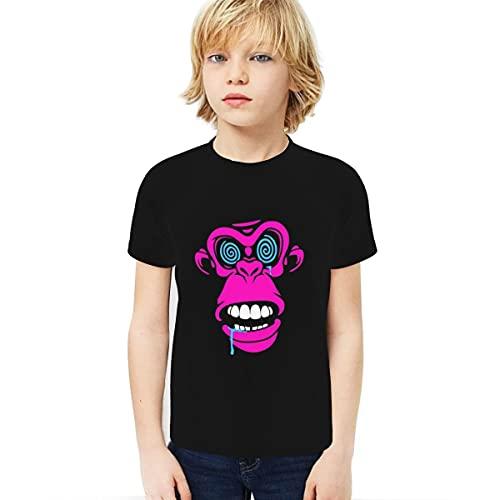 Cantoma Redbubble Boy T-Shirt 3D Gedruckt T-Shirt Home Girlsredbubble Schwarz Gr. XS, Schwarz