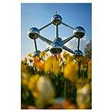 artboxONE Poster 60x40 cm Städte Atomium hochwertiger