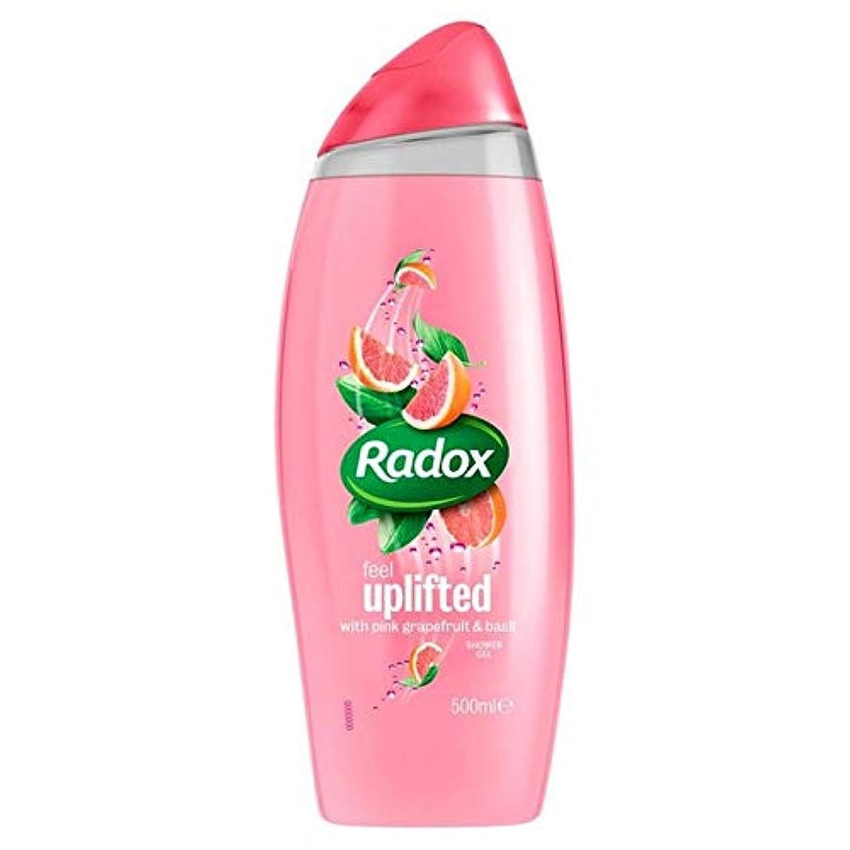 興奮直感不和[Radox] Radox感隆起シャワージェル500ミリリットル - Radox Feel Uplifted Shower Gel 500ml [並行輸入品]