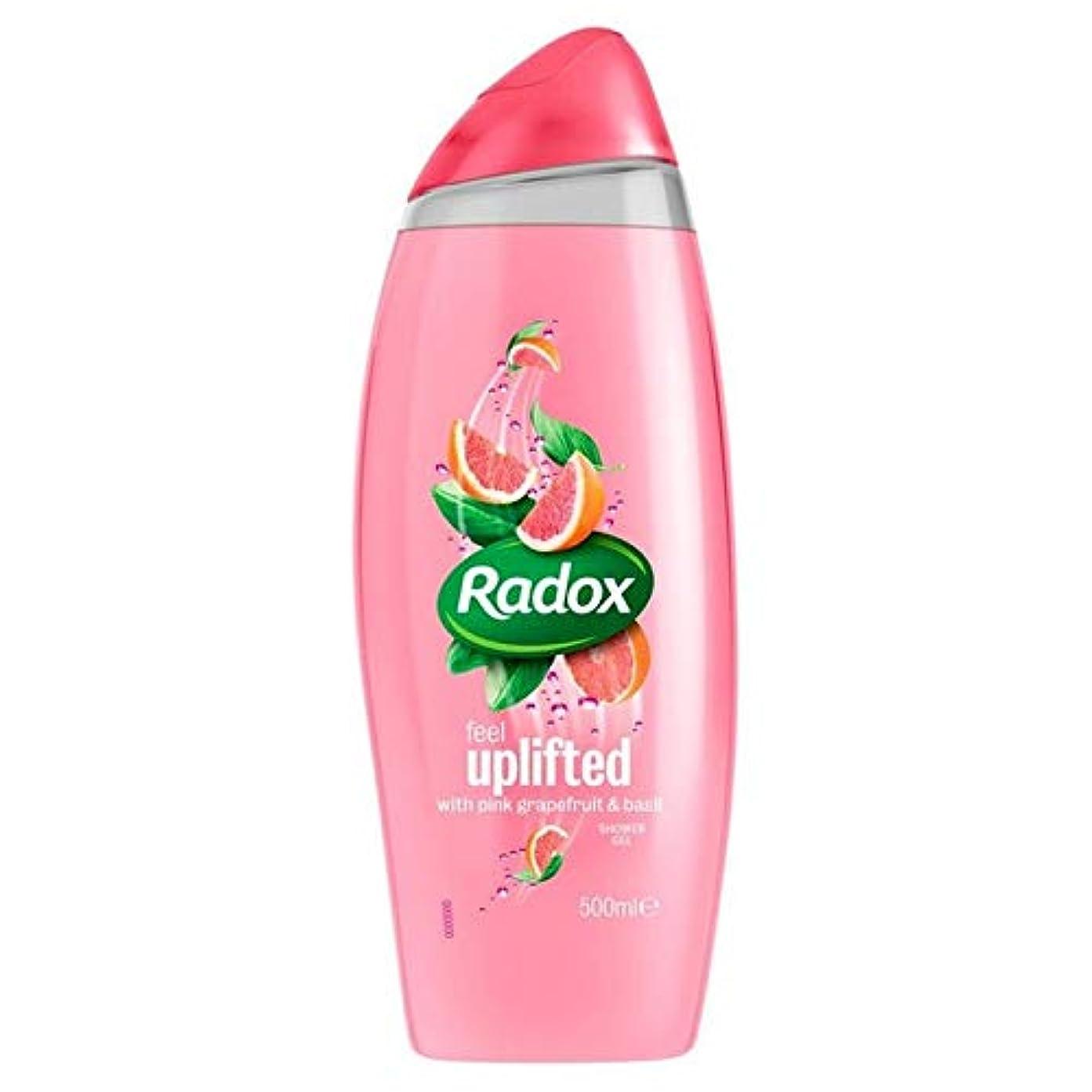 ゆるく接続されたオアシス[Radox] Radox感隆起シャワージェル500ミリリットル - Radox Feel Uplifted Shower Gel 500ml [並行輸入品]