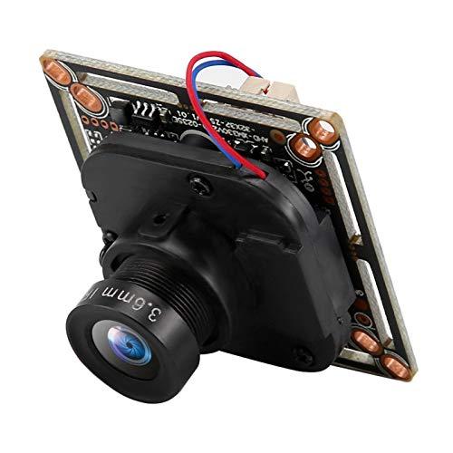 Kameramodul, 3,6-mm-Objektiv-CMOS-Sensor mit 10-20 m/32,8-65,6 Fuß Infrarotabstand, einfach zu bedienendes analoges Überwachungskameramodul für Überwachungskameras(NTSC-System)