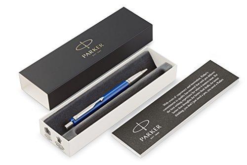PARKER Druckkugelschreiber Vector Geschenkbox M blau