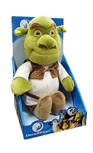 DreamWorks Shrek - Plüsch 25 cm mit Blister - Superweiche Qualität - 760019460/61 (Shrek)