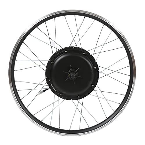 RiToEasysports Kit di Conversione Bicicletta Elettrica da 26 Pollici Kit Motore Mozzo Brushless Ruota Anteriore Bici Elettrica Impermeabile in Lega...