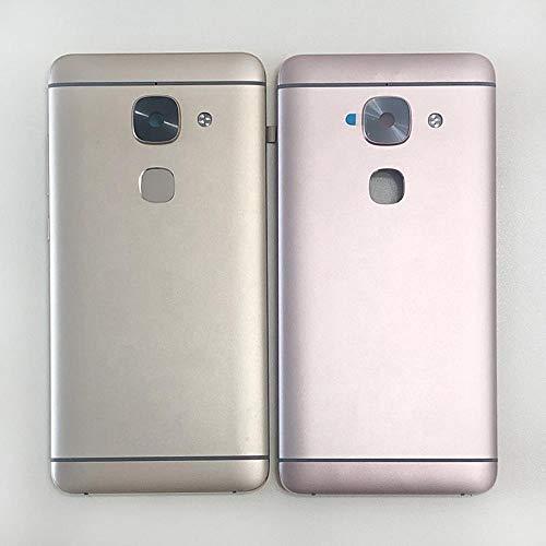 AN-JING Ersatzteile for LeTV Leeco Le Max 2 Le X821 X829 X820 Rückseiten-Batterie-Abdeckungs-Fall (Color : Gold with Fingerprint)